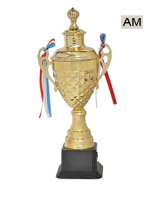 big plastic sports cup with black stand