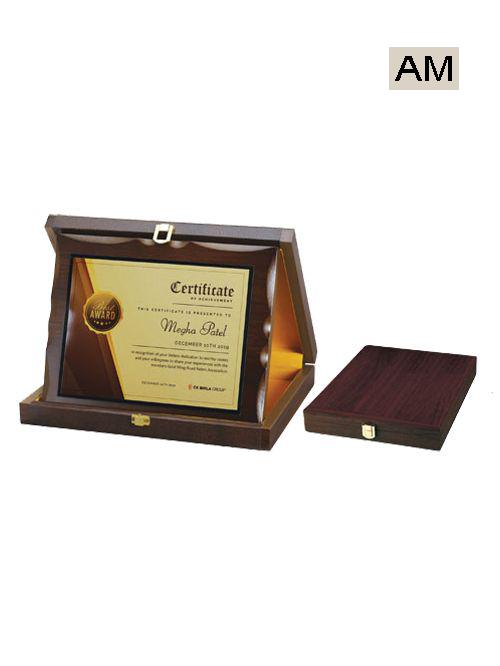 box type wooden mementos