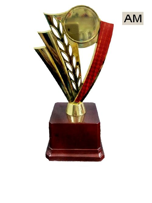 colorful plastic trophies
