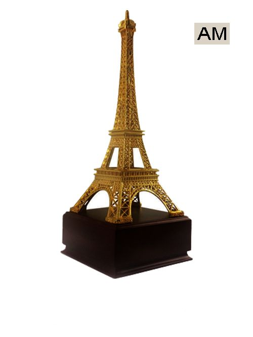 eiffel tower theme trophy