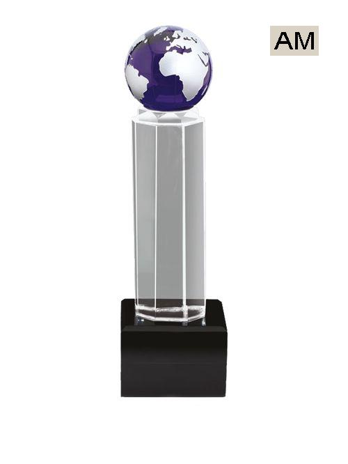 glob acrylic trophies