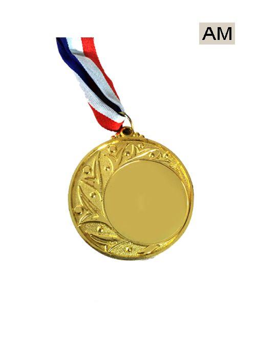 glod plating design medal