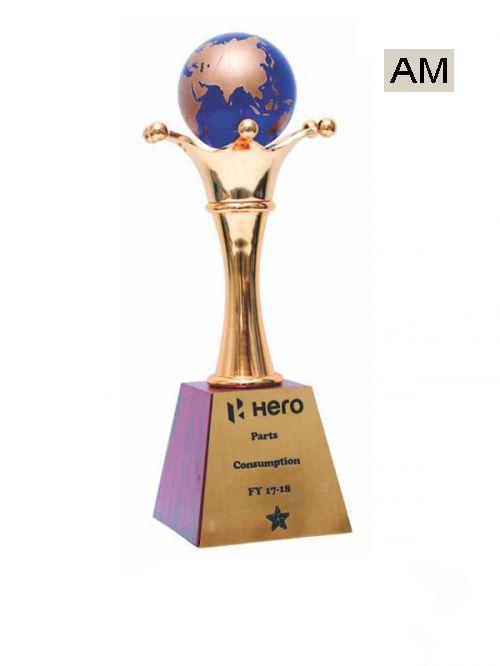 premium metal glob trophies