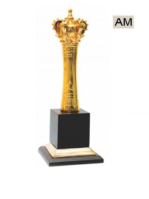 premium metal king trophies