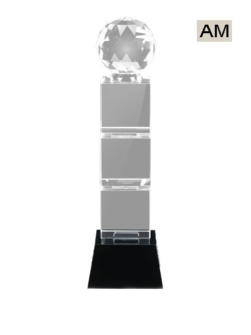 shine crystal trophy