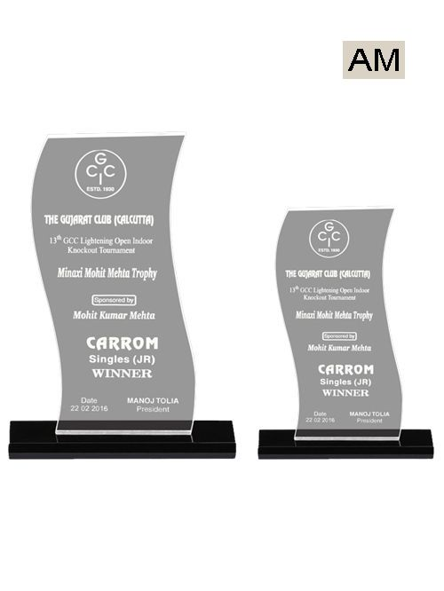 simple acrylic trophies