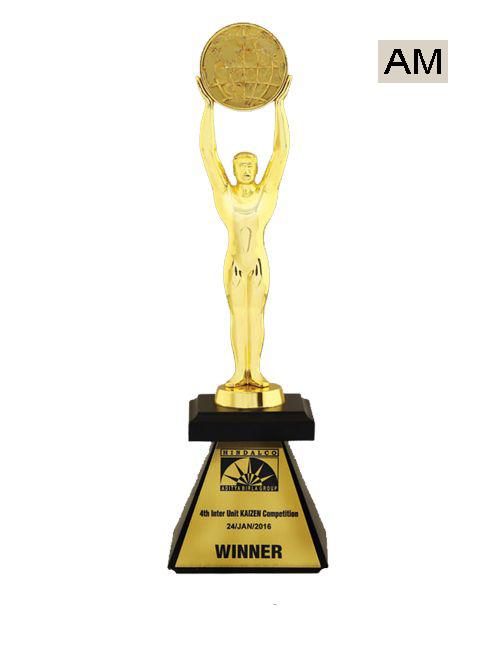 metal oscar award