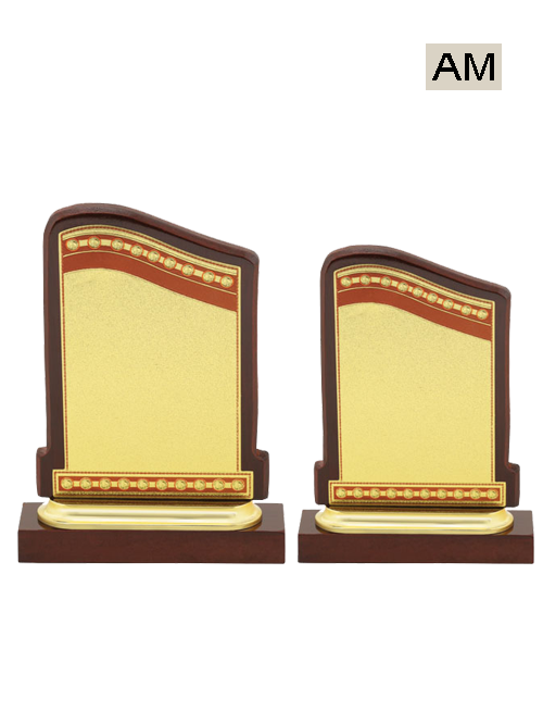 mini wooden award