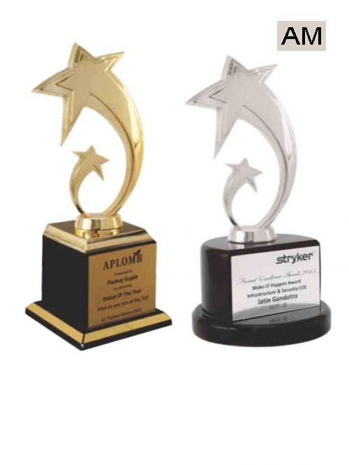 premium metal wooden stand trophies