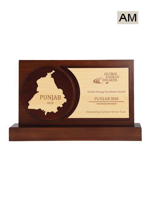 punjab map wooden mementos