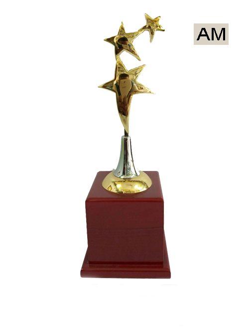 three metal star award