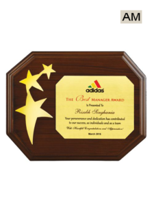Three Star Wooden Award