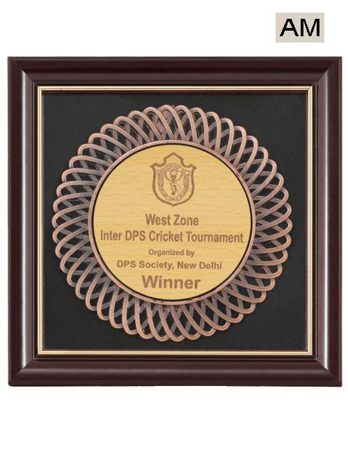 wooden frame award