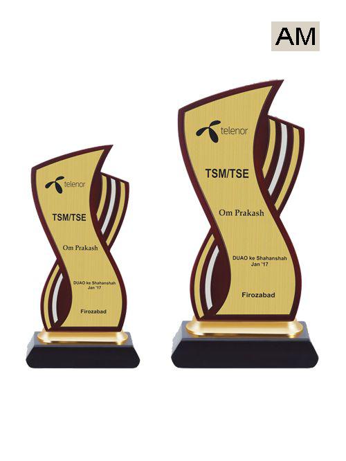 wooden tournament award