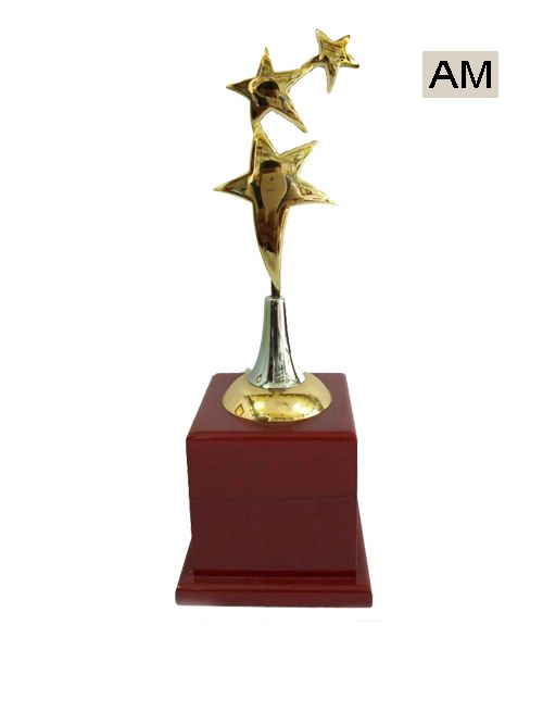 three metal star award